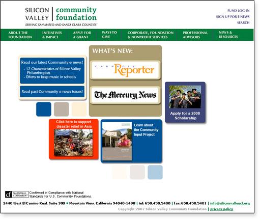 06 SVCF  website